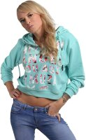 Yakuza Damen Angel Cropped Hoody GHOB-16102