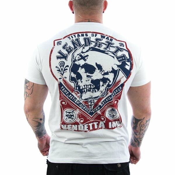 Vendetta Inc. Shirt Titans weiß