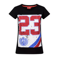 Label23 T-Shirt World of fighting schwarz