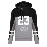 Label23 Pullover College grau