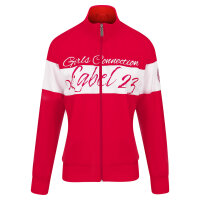 Label23 Trainingsjacke Girls Connection rot