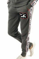 Label 23 Frauen Jogginghose Retro 23 grau