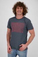 alife and kickin Logo IconAK T-Shirt Herren Marine S
