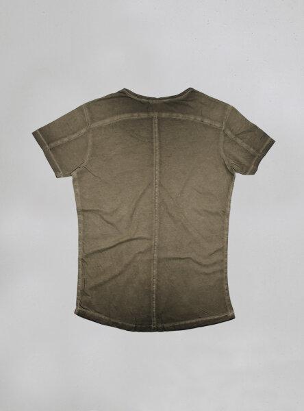 Billy U-Neck Shirt olive