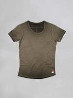 Billy U-Neck Shirt olive