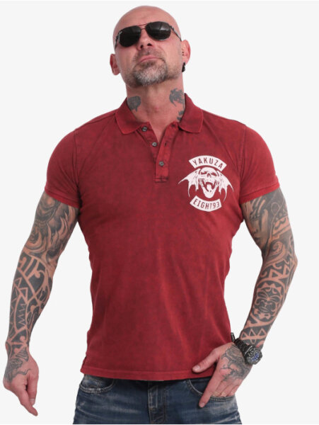 893MC Polo Shirt Chillipepper