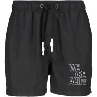Alife and Kickin  MaxAK Swimshorts Herren Boardshort schwarz
