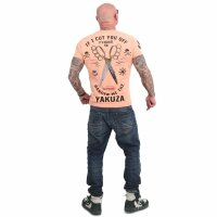Yakuza Scissors T-Shirt papaya