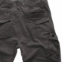 Jet Lag Herren Cargo Shorts schwarz