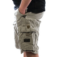 JETLAG Cargo Shorts Take Off 7 cement