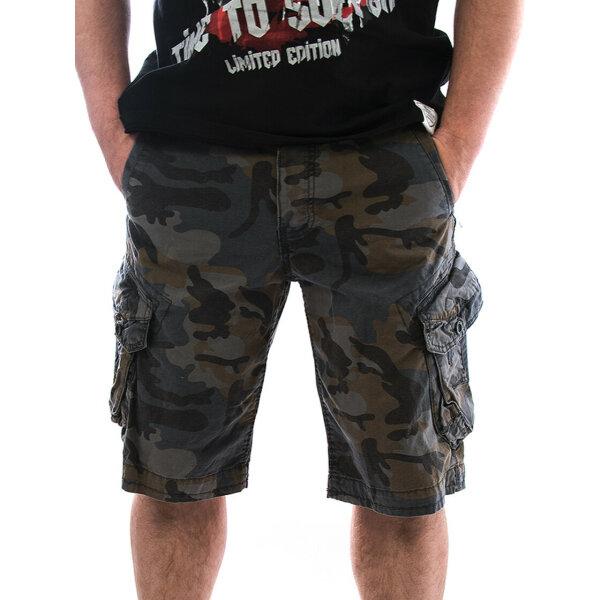 JETLAG Men Shorts Take Off 3 camouflage