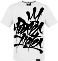 Pure Hate Crowned Tag Shirt weiß M
