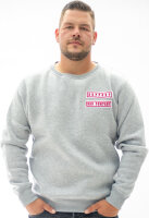 Pro Violence Support Pullover  Hoodie grau XXL