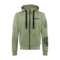 """Label23 Zip Hoodie """"Fight Company"""" olive"""
